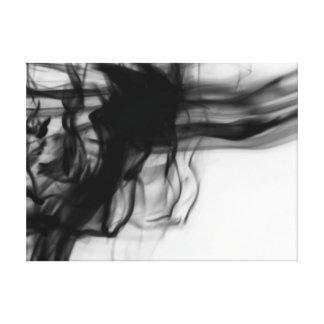 Black Fire II Premium Wrapped Canvas