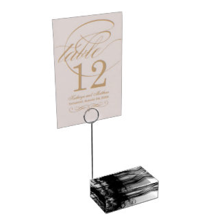 Black Fire II Table Card Holder by Artist CL Brown