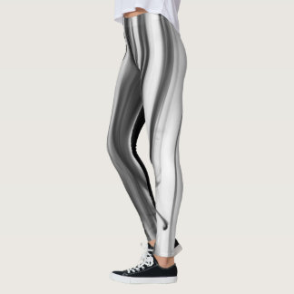Black Fire III Leggings by Artist C.L. Brown