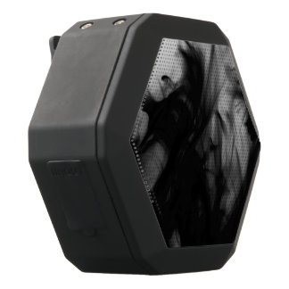 Black Fire IV Boombot REX by Artist C.L. Brown Black Bluetooth Speaker
