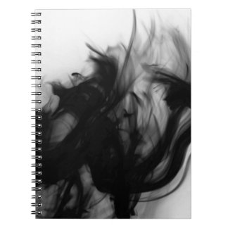 Black Fire IV Notebook by Artist C.L. Brown