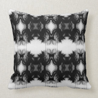 Black Fire IV Remix I Cotton Throw Pillow