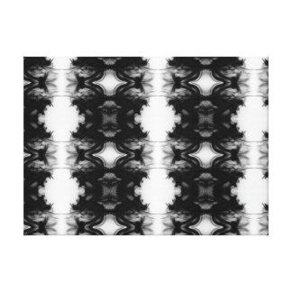Black Fire IV Remix Premium Wrapped Canvas