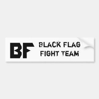 BLACK FLAG MMA PRODUCTS BUMPER STICKER