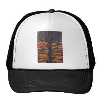 Black Flower(Symbolic Expressionism) Hat