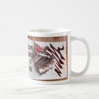 Black forest cake basic white mug