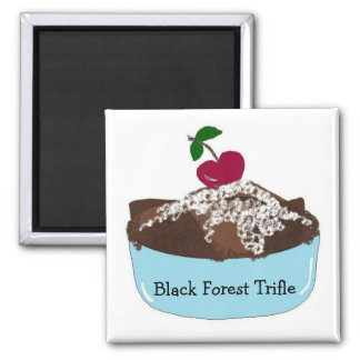 Black Forest Trifle Magnet