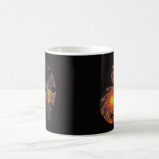 Black Fractal Mug