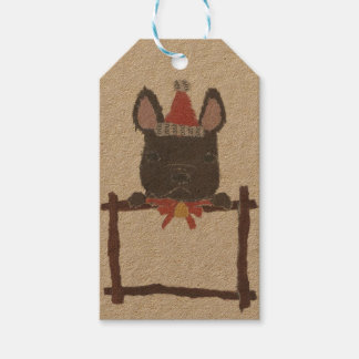 Black French Bulldog, Frenchie Gift Tags