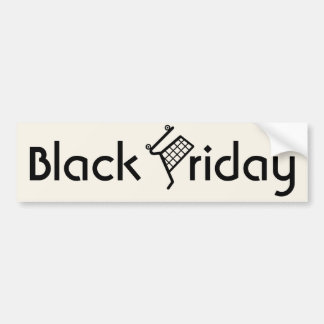 Black Friday Bumper Sticker