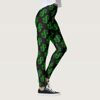 Black Friday Money Sign Pants Women's Leggings