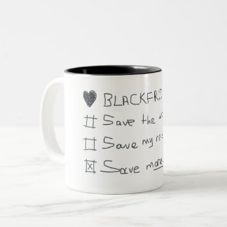 Black Friday Mug - Time to save money