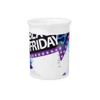 Black Friday Sale Gift Bow Design Pitcher