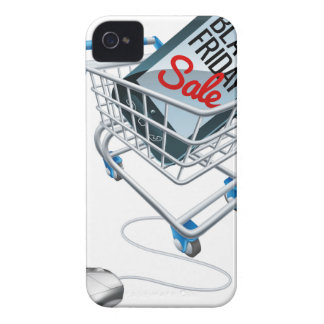 Black Friday Sale Phone Trolley Mouse Sign Case-Mate iPhone 4 Case