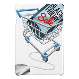 Black Friday Sale Phone Trolley Mouse Sign iPad Mini Cases