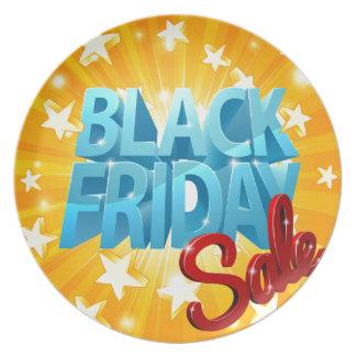 Black Friday Sale Plate