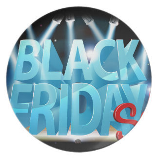 Black Friday Sale Stage Sign Plate