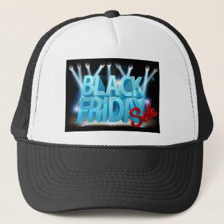 Black Friday Sale Stage Sign Trucker Hat