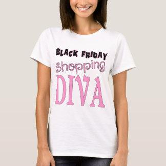 Black Friday Shopping DIVA T-Shirt