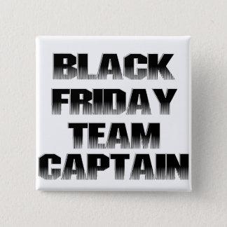Black Friday Team Captain 15 Cm Square Badge