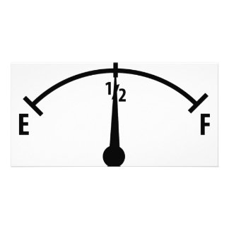 black fuel indicator icon picture card