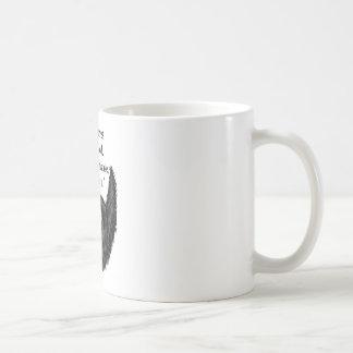 Black fuzzy beard coffee mug