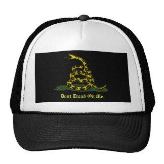 black Gadsden Hat