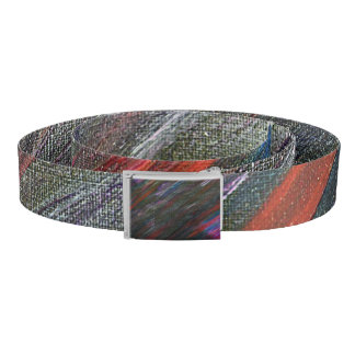 Black Galaxy Abstract Belt