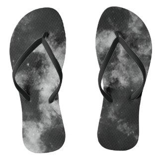 Black galaxy thongs