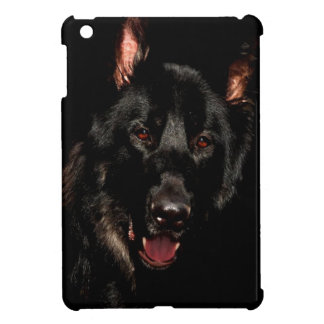 Black German Shepherd Cover For The iPad Mini