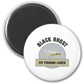 Black Ghost Fly FIshing Lure Refrigerator Magnets