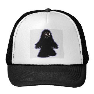 Black Ghost Mesh Hat