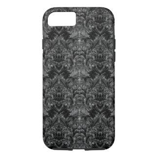 Black Ghost Shadow Blur Damask Illusion iPhone 7 Case
