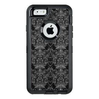 Black Ghost Shadow Blur Damask Illusion OtterBox iPhone 6/6s Case