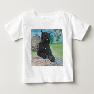 Black Giant Schnauzer Baby T-Shirt