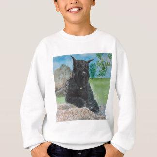 Black Giant Schnauzer Sweatshirt