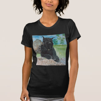 Black Giant Schnauzer T-Shirt