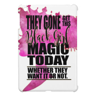 Black Girl Magic Affirmation Case For The iPad Mini