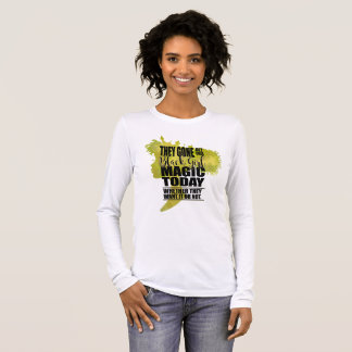 Black Girl Magic Affirmation Long Sleeve T-Shirt