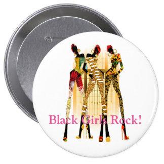 Black Girls Rock! 10 Cm Round Badge