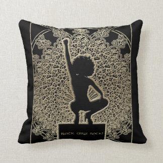 Black Girls Rock! Throw Pillow