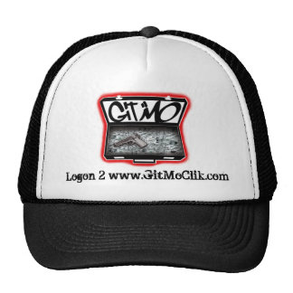 Black Git Mo' Trucker Hat