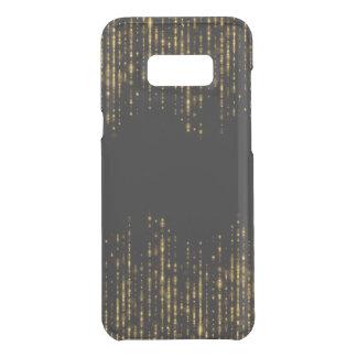 Black & Glam Gold Glitter Beads Uncommon Samsung Galaxy S8 Plus Case