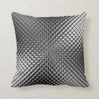 Black Glass Throw Pillow
