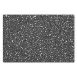 Black Glitter Tissue Paper
