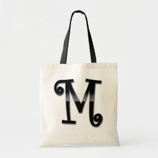 Black Gloss Monogram - M