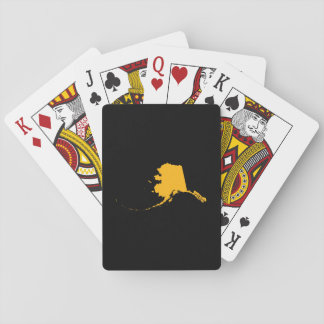 Black Gold Alaska Playing Cards