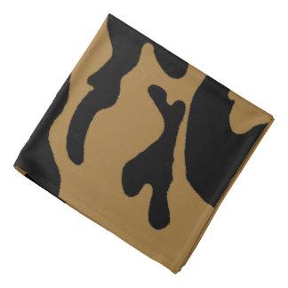 Black Gold Camouflage Bandana