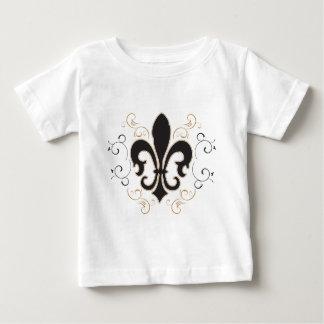 black_gold Fleur Baby T-Shirt