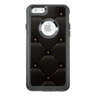 Black & Gold Geometric Pattern OtterBox iPhone 6/6s Case